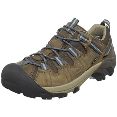 KEEN Men's Targhee II WP Hiking Shoe,Slate Black/Brindle,9 M US