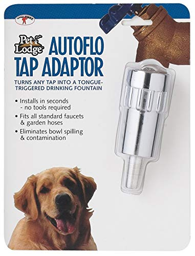 AutoFlo Automatic Faucet Tap Adaptor Dog Pet Drinking Fountain Waterer ()