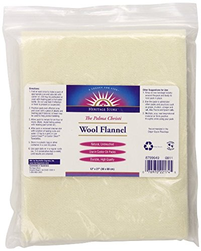 (Heritage Wool Flannel 12 x 27 (Pack of 2))