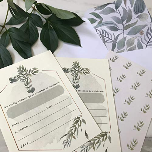 Religious Invitations - Boys or Girls - 20 Fill-in Cards with Stickers & Envelopes for Baptism, Christening, First Communion, Confirmation, 5 x 7 Inches by Nora's Nursery (Image #4)