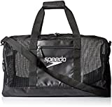Speedo Ventilator Duffle Bag, Black/Black, 40-Liter
