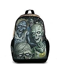 The Walking Dead Zombie Bag Backpack School Bag Luminous version