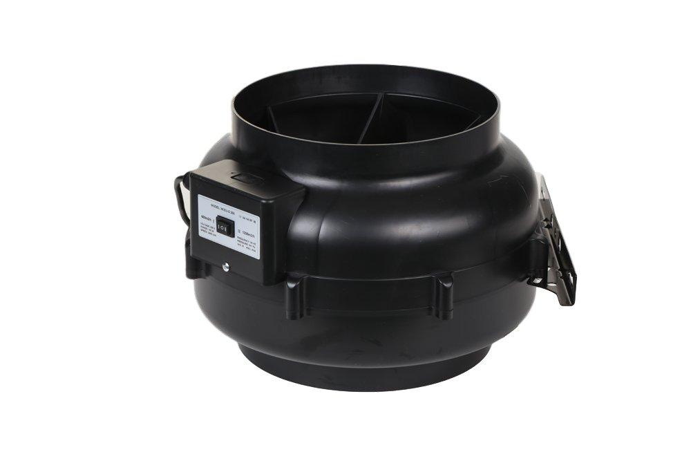 Circular Inline Plastic Centrifugal In-Line Duct Fan HCGF250, 10'' Inch Diameter, Inline Fan, Duct Fan, Circular Fans