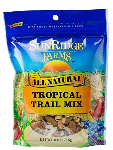 - SunRidge Farms Tropical Trail Mix, 8 Ounce Bag (Pack of 12)