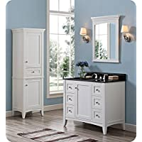Fairmont Designs 1512-V42 Shaker Americana 42 Vanity - Polar White