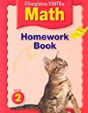 HM Math Homework Book Grade 2, HOUGHTON MIFFLIN, 0618438009