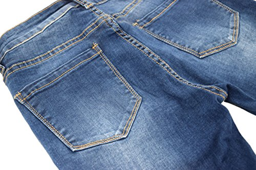 42 Slim Straight A Slim Donna Bootcut Jeans Denim Da Skinny Pantaloni 34 Boyfriend Fqwq75xH4P
