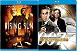 Goldfinger + The Rising Sun Blu Ray Action Sean Connery movie Set Combo Edition James Bond Classic