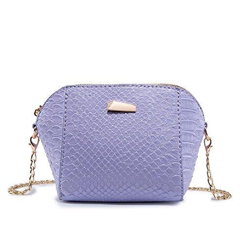 Ladies ZHRUI Sweet Monnaie Violet épaule Porte coloré Violet Mini Douce OAwAPqYS