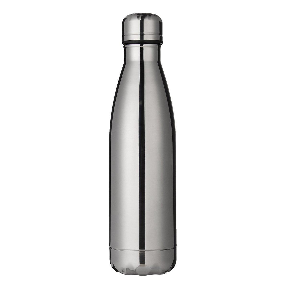 Ministar 500 ml Botella de agua de acero inoxidable con aislamiento al vac/ío