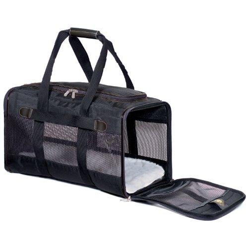 Sherpa Original Deluxe Pet Carrier, Medium, Black, My Pet Supplies