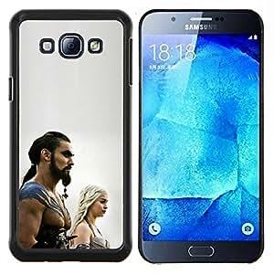 TECHCASE---Cubierta de la caja de protección para la piel dura ** Samsung Galaxy A8 ( A8000 ) ** --Khal Drogo