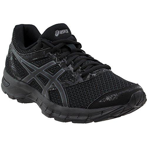 ASICS Mens Gel-Excite 4 Running Shoe, Black/Carbon/Black, Size 8