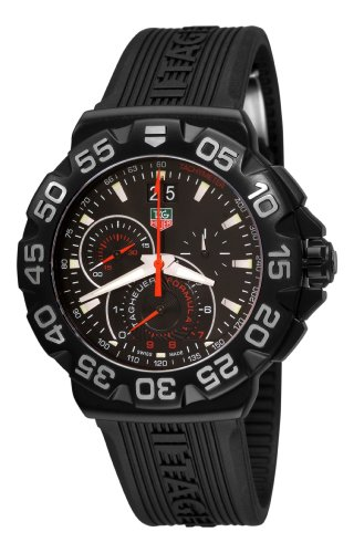 TAG Heuer Men's CAH1012.FT6026 Formula 1 Chronograph Black Dial Watch