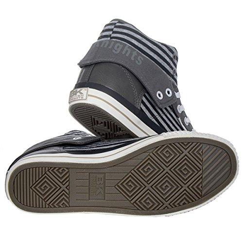 Damen Grey 02 Schuhe BK Unisex 3730 British black B34 Knights ROCO qwT6gnxE1C