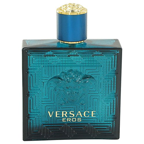 Versace Eros by Versace - Eau De Toilette Spray (Tester) 3.4 oz (Cologne Spray Mint)