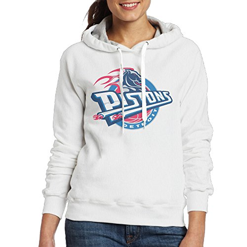 Lightweight 80's Juniors Lady Detroit Pistons X-Large Hoodies (Detroit Pistons Womens Hoodie)