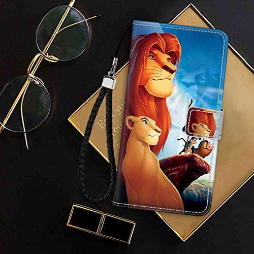 Wallet Case Compatible for Apple iPhone 7   8 4.7inch Disney Simba Lion King Poster Nora Luxury