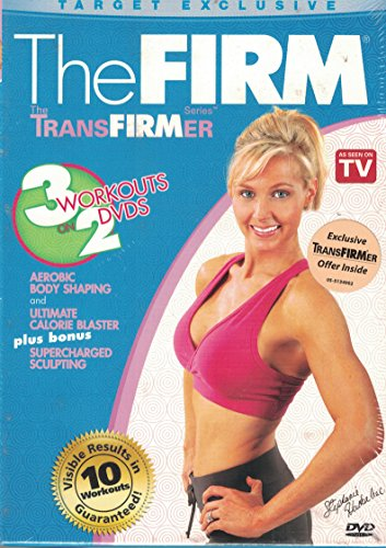 The Firm Transfirmer Series : Target Exlusive Edition : Aerobic Body Shaping , Ultimate Calorie Blaster , Supercharged Sculpting : 3 Workouts : DVD SET by
