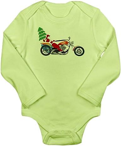 Chopper Truly Teague Toddler T-Shirt Holiday Biker Santa on his Motorcycle