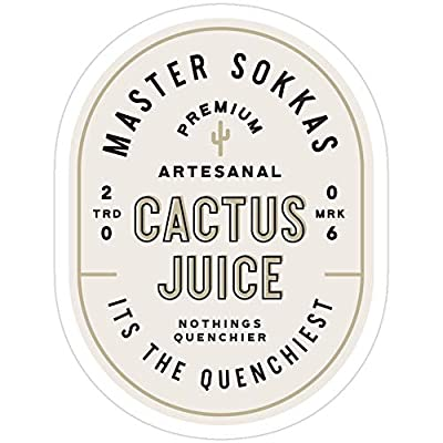 BreathNenStore Cactus Juice Avatar The Last Airbender All Seasons Stickers (3 Pcs/Pack) 6252135429260: Kitchen & Dining