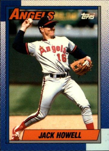 Howell Jack - 1990 Topps Tiffany Baseball Card #547 Jack Howell Near Mint/Mint