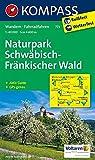 Naturpark Schwäbisch-Fränkischer Wald: Wanderkarte mit Aktiv Guide und Radwegen. GPS-genau. 1:40000 (KOMPASS-Wanderkarten, Band 773)