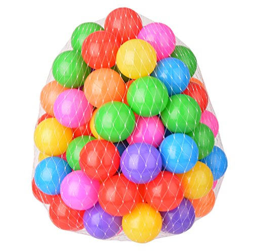 Lightaling 5.5cm Ocean Balls Colorful Soft Plastic Pit Balls 100pcs