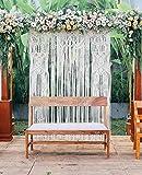 www.knittworld.com New Bohemian Macrame Wall Decor Boho Chic Style Macrame Wedding Backdrop Arch 70'' W x 80'' L (Pack of 1)
