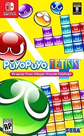 amazon puyo puyo tetris 輸入版 北米 switch ゲームソフト