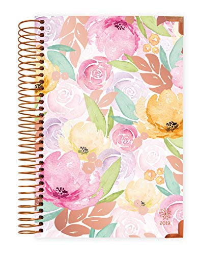 (bloom daily planners 2019 Hard Cover Calendar Year Day Planner - Passion/Goal Organizer - Monthly and Weekly Dated Agenda Book - (January 2019 - December 2019) - 6