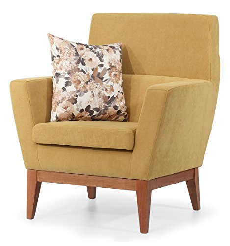 AERO OCCASIONAL ACCENT CHAIR (MUSTARD)
