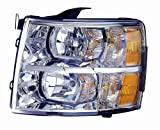 Depo 335-1145L-AC Chevrolet Silverado Driver Side Replacement Headlight Assembly