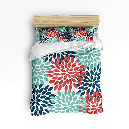 Fandim Fly Bedding Set Queen Size Dahlia Pattern,Comforter for sale  Delivered anywhere in Canada