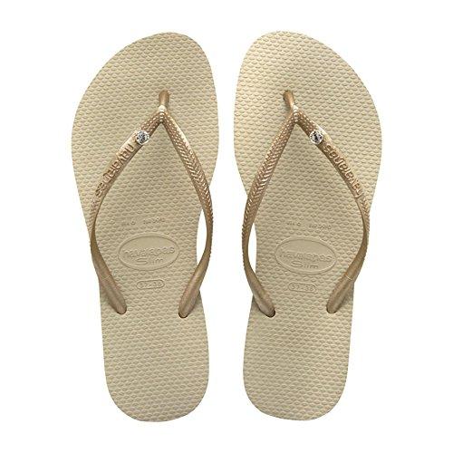 Slim 2719 sandales Doré Gris Glamour Claire Gris Sand Crystal Havaianas Sw Femme HUxCWP