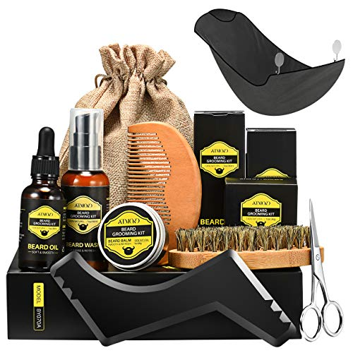 ATMOKO Beard Grooming Kit Men