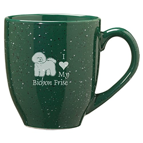 Ceramic Bichon Frise Coffee Mug