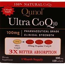 Qunol Ultra CoQ10 - 100% Soluble 100mg - 120 Softgels by Qunol, 2 pack