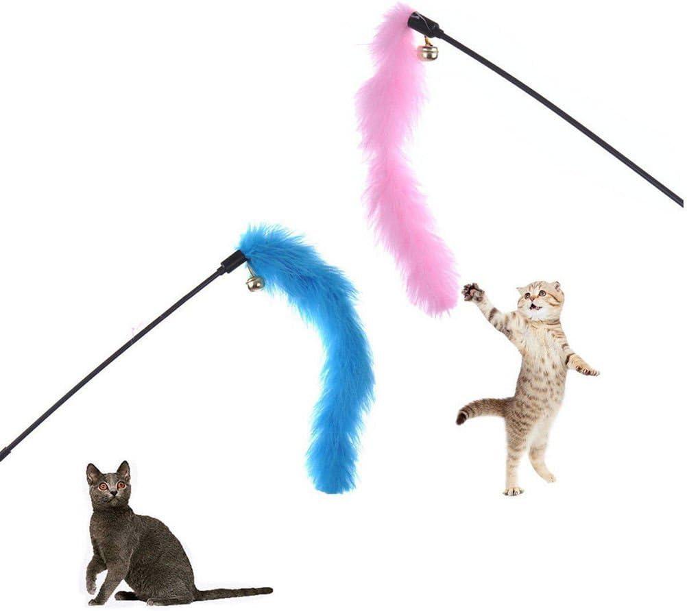 Amazon.es: Hangqiao Juguete Interactivo para Gatos y Gatitos, Palo ...