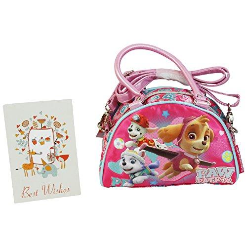 Paw Patrol Fly Shoulder Bag Handbag Bowling bag (Pink Ladies Bowling Bag)