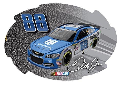 """NASCAR #88 Dale Earnhardt Jr 5""""x6"""" Swirl Magnet-NEW for 2016!"""