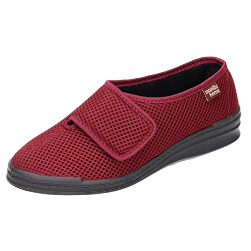 Manitu womens house shoe bordeaux Rot ThSTu2