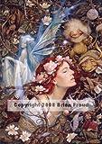 Briar Rose Brian Froud Fantasy Fairy Art Ceramic Tile