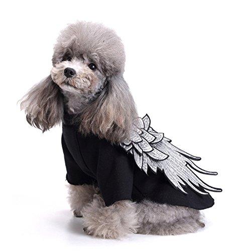 buena reputación Negro extra-large OCSOSO sudadera sudadera sudadera con capucha perchero de parojo de disfraz con chaqueta de ala perro ropa mascota cachorro gato prendas de vestir Suéter  buscando agente de ventas