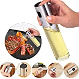 #4: Olive Oil Sprayer for Cooking ,Oil Spray Bottle Oil Sprayer Dispenser Vinegar Bottle for BBQ, Making Salad, Cooking,Baking, Roasting
