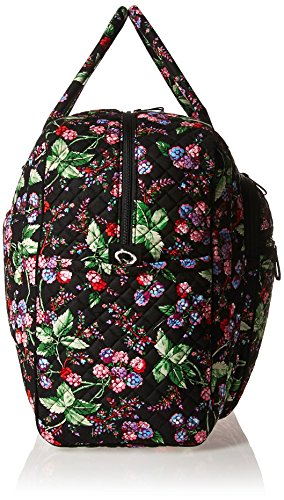 519ll2L8FOL - Vera Bradley Women's Iconic Grand Weekender Travel Bag-Signature