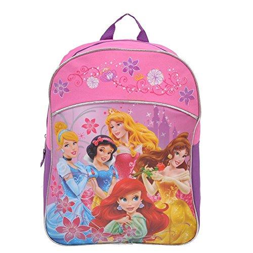 (Disney Princess Kids Backpack 15 Inch School Bag [Pink] )