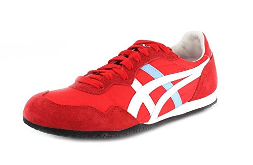 new product 23d56 73c72 Onitsuka Tiger Serrano Fashion Sneaker Blue/Yellow: Amazon ...