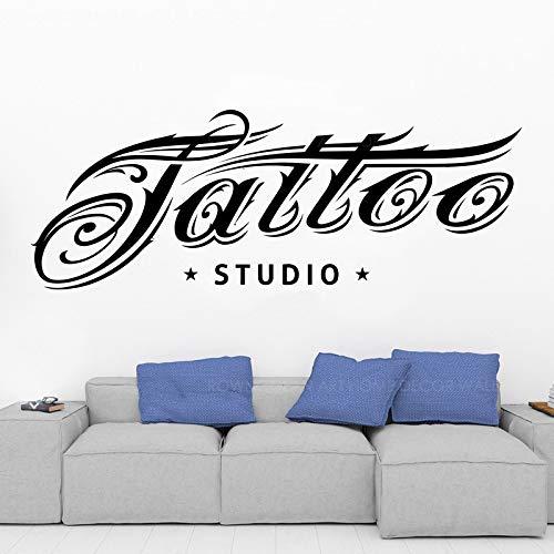 WWYJN Estudio de Tatuajes Logotipo Arte de la Pared ...