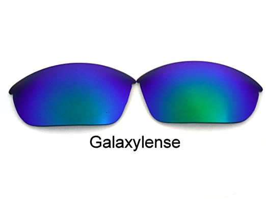 7dc4aa2c77 Galaxy Replacement Lenses for Oakley Half Jacket 2.0 Green Color Polarized  Green Size  Regular  Amazon.co.uk  Clothing